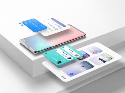 📱 NEW! Galaxy S10+ Mockup Templates