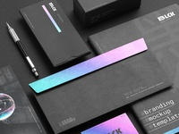 Blck Branding Mockup Kit