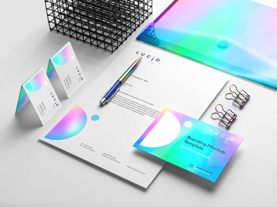 Lucid - Branding Mockup