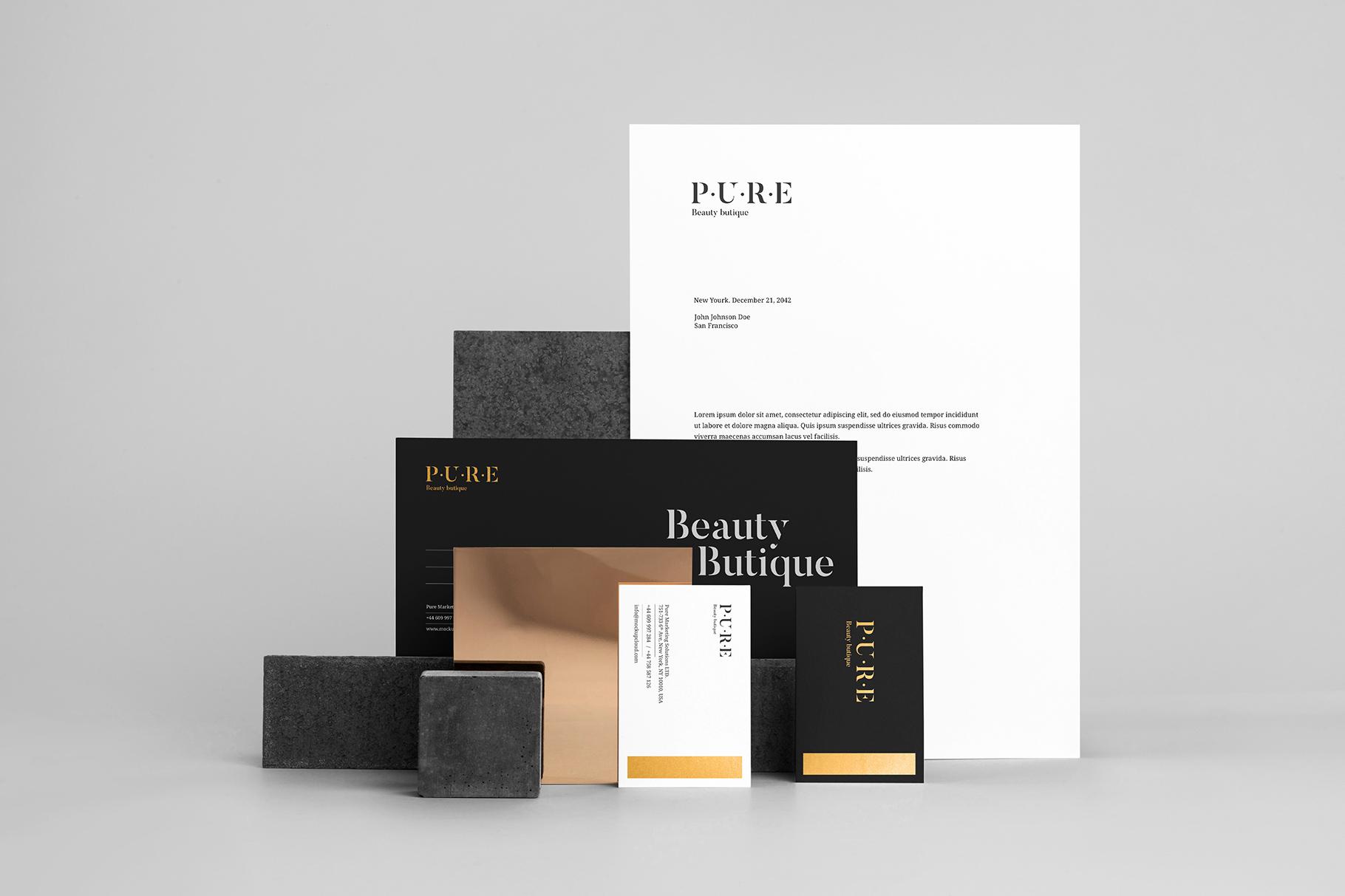 08 pure branding mockup vol2