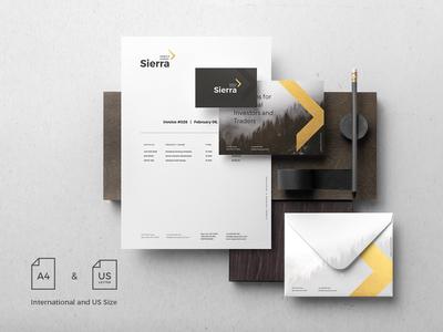 Sierra Branding Mockup