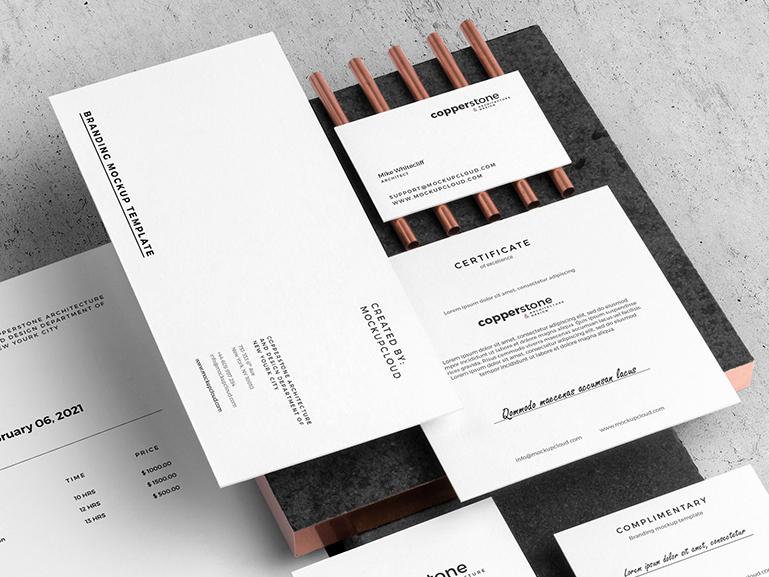 04 copperstone branding mockup v2