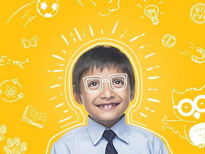 Infinite Engineers   Visual Branding explore fun children childrens book childrens illustration educational illustration educational branding education science science illustration school kids illustration doodle illustration