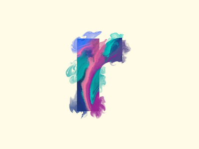 r - #36DaysOfType abstract procreate marble radical realism 36daysoftype