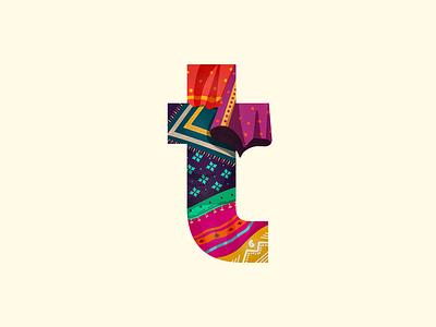 t - #36DaysOfType pattern ethnic traditional fashion textile saree india 36daysoftype