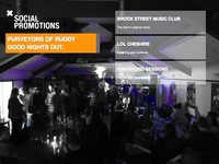Social Promotions Website