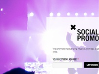 Music Promotions Squeeze Page