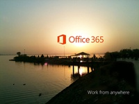 Illustrate 'work from anywhere' for Microsoft Office 365