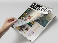 Magazine template   indesign 56 page layout v3 b