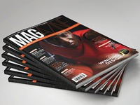 Magazine template   indesign 56 page layout v4 b