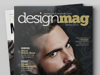 Magazine template 06 preview large