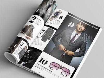 Magazine Template - InDesign 40 Page Layout V6 magazine book booklet brochure corporate design graphic design indesign leaflet newsletter print professional