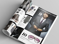 Magazine Template - InDesign 40 Page Layout V6