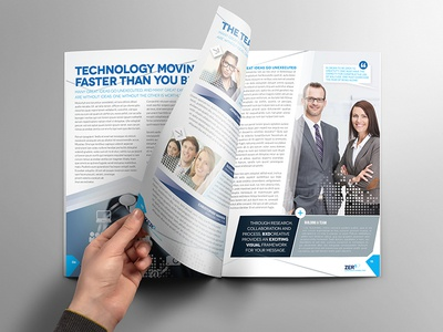 Brochure Template - InDesign 8 Page Layout 07