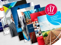 8 Print-Ready InDesign Brochure Templates