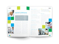 Free brochure mock up outer