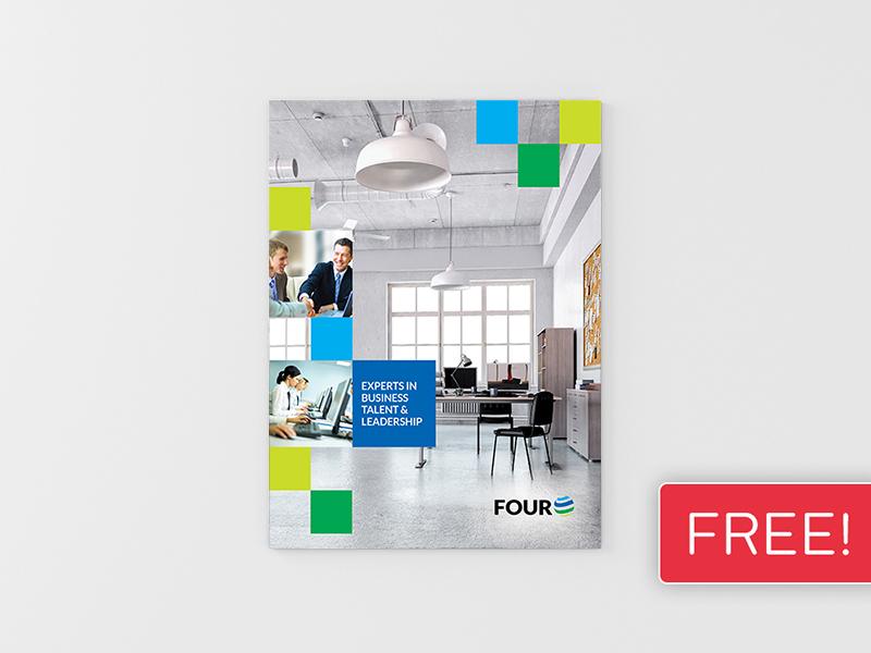 FREEBIE! InDesign Brochure Template 04 booklet brochure business clean corporate design graphic design indesign leaflet magazine newsletter print