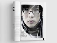 Magazine Template - InDesign 40 Page Layout V11