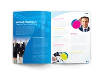 Free brochure mock up inner