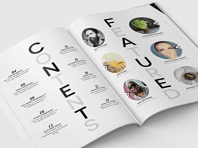 Magazine Template - InDesign 40 Page Layout V12 magazine book booklet brochure design graphic design leaflet newsletter print indesign