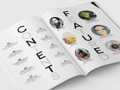 Magazine Template - InDesign 40 Page Layout V12