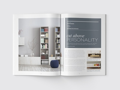 Magazine Template - InDesign 40 Page Layout V13 indesign print newsletter leaflet graphic design design brochure booklet book magazine