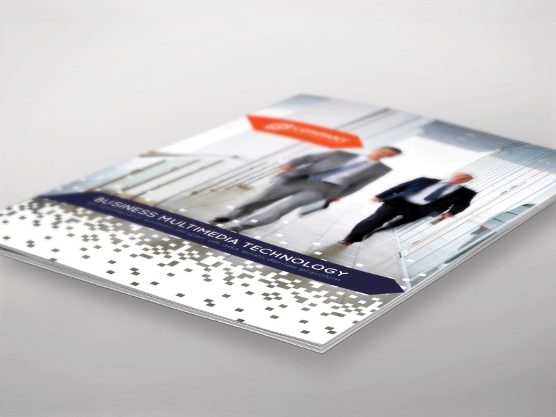 Brochure Template - InDesign 8 Page Layout 05 brochure adobe indesign corporate leaflet flyer magazine newsletter print