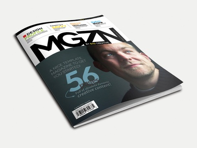 Magazine Template - InDesign 56 Page Layout V1 magazine book booklet brochure business clean colour corporate design graphic design indesign leaflet marketing modern newsletter print professional