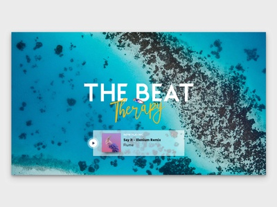 The Beat Therapy live radio logo and player