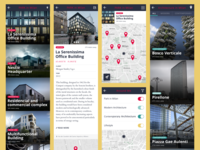 Architectural guide of Milan APP