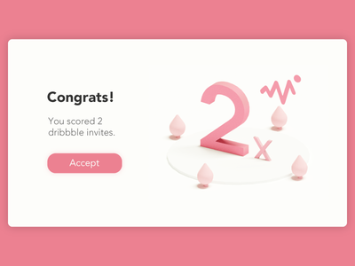 Dribbble Invite Giveaway invitation minimal clean interface design ui isometric 3d player draft invites invite