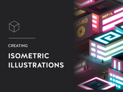 Article - Create isometric illustrations quickly post medium illustrator buildings article low poly 3d vector illustrations illustration isometric