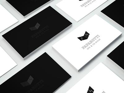 Paparotti VFX Artist Mockup Card freelance logotypes card business logo ciber icon brand logotype photoshop c4d artist vfx personal brand