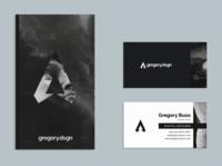 Personal Brand - Concept Mockup 001 identity branding black  white grey black logo logotipo personal brand identity branding brand identity design logotype brand