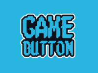 """Game Button"" logo concept"