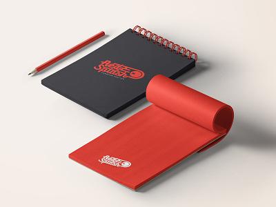 RedSplash.it Notebook red notebook splash logo red logo icon branding brand identity logotipo design logotype logo brand
