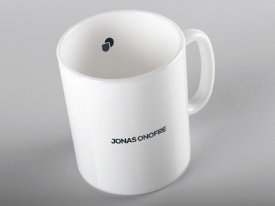 Jonas Onofre - Brand Concept Mug. design minimalist logo minimalism shield gamer teacher developer branding brand identity logotipo icon logotype brand