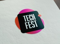 Tech Fest - Sticker
