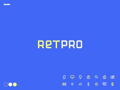 RETPRO . Logo & Type Design