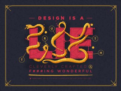 Design is a lie design illustrator rebound shopify