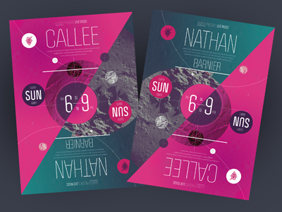 Nathan + Callee poster poster flip