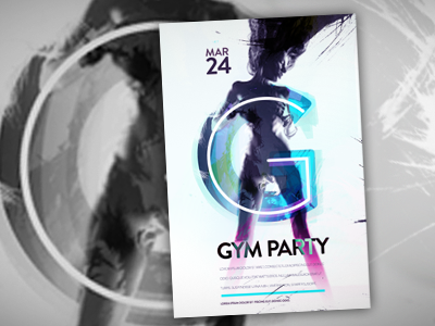 Gym Party poster g