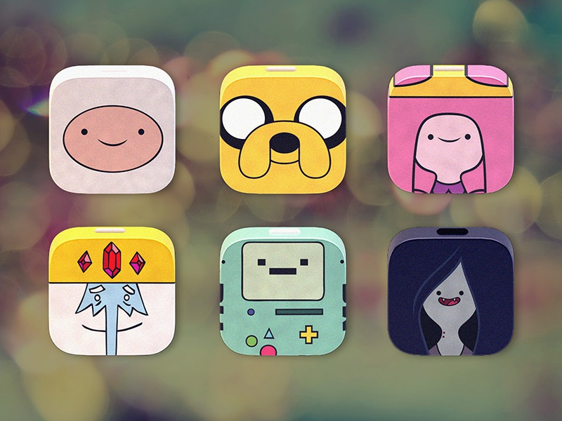 [Freebie] Adventure Time! adventure time icons freebie download