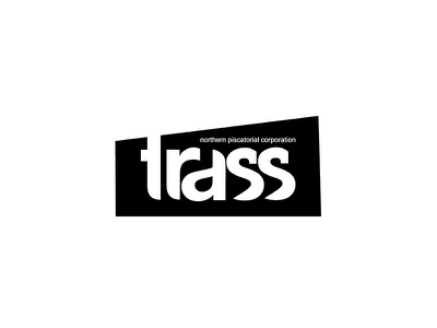 'trass' logo piscatorial