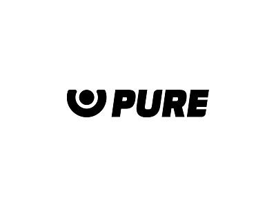 Pure Protein nutrition sport identity logo