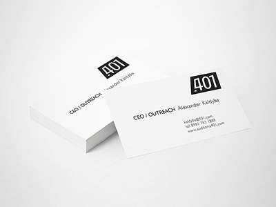 401 auditory 401 logo school design