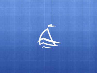 Admiral Boats identity logo