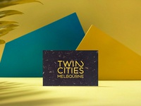 Twin Cities Hostels identity logo