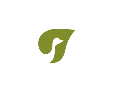 Goose Agro grocery environmental natural identity logo
