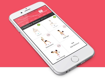 Fitness App Design by Pavel Poloskov - Dribbble